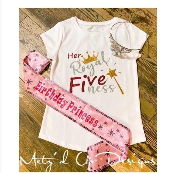 Shirts Tops Custom Her Royal Fiveness Shirt Poshmark